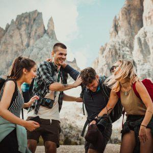 TTC Life - friends hiking together